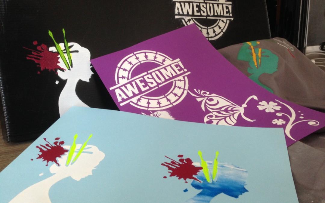 Stencil Zeefdrukken Jeugd atelier voor 13 t/m 18 jaar