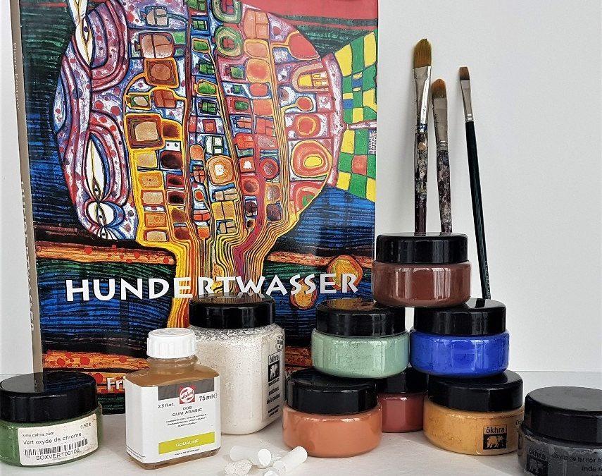 Workshop tekenen en schilderen à la Hundertwasser