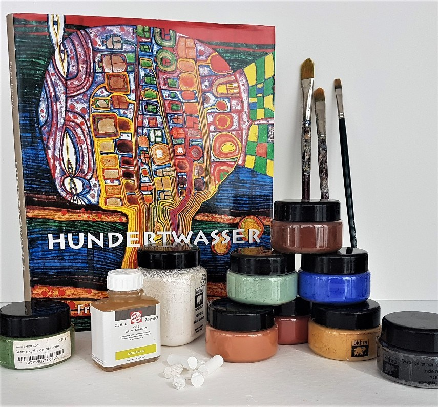 Workshop schilderen a la Hundertwasser