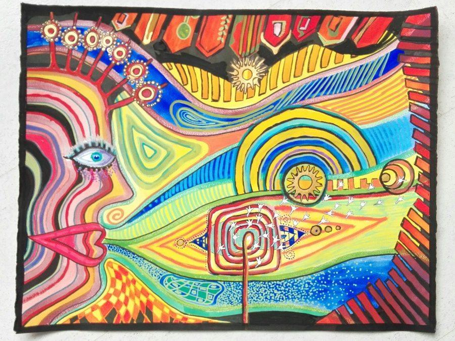 Schilderworkshop over de ecoloog Hundertwasser
