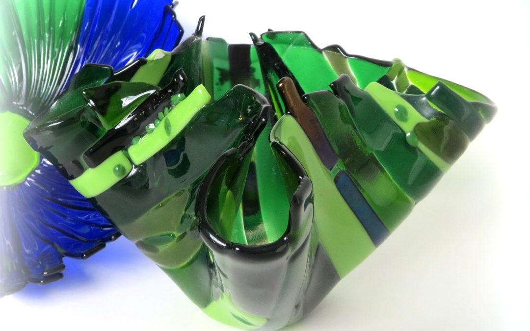 Workshop ontwerp je eigen vaas in glas