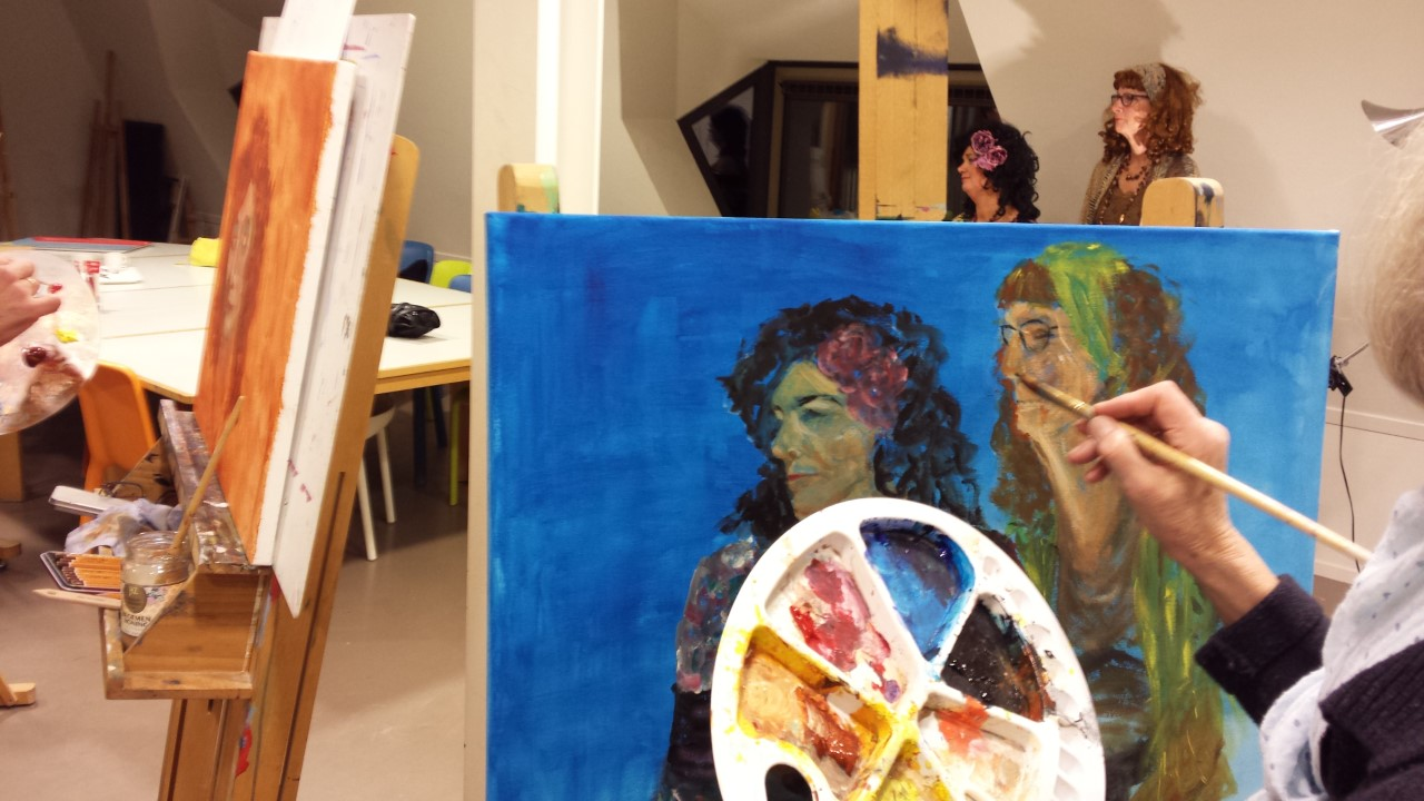 KCW Portret tekenen en schilderen